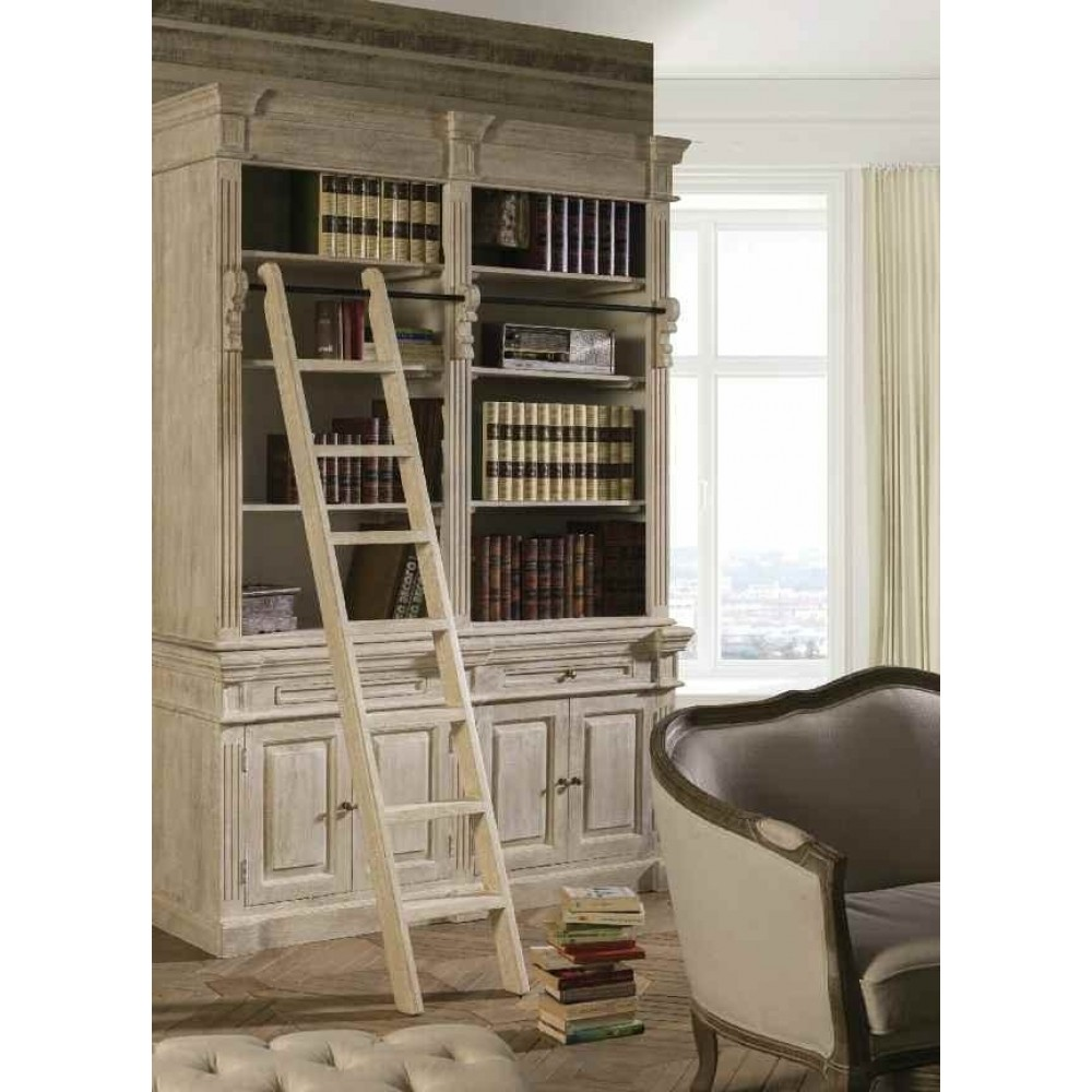 Scala per librerie cottage shabby chic etnic outlet for Scala in legno shabby