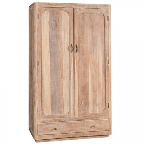Armadio legno massello slavato