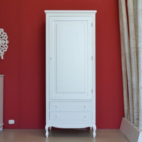 Armadio legno bianco provenzale