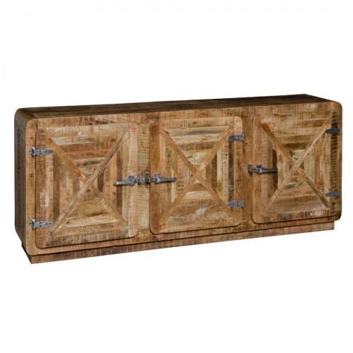 Buffet etnico legno massello