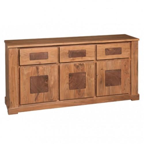 Buffet legno naturale sheshaam