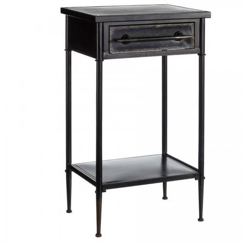 Tavolino industrial ferro nero