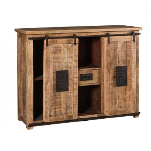 Consolle legno massello naturale
