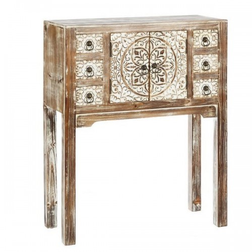 Consolle orientale bianco shabby