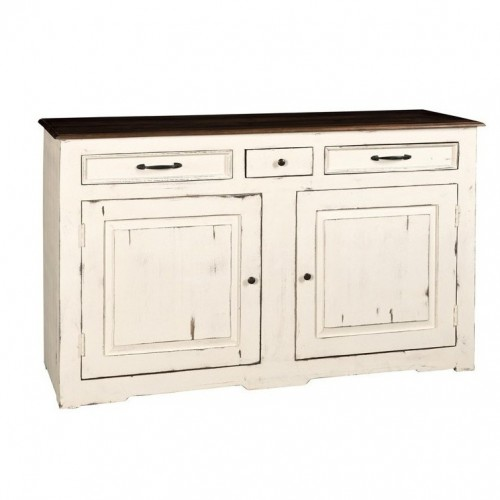 Credenza bianca country chic