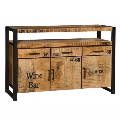 Credenza industrial wine