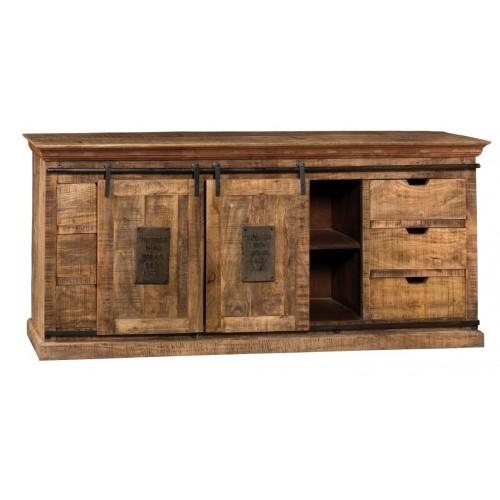 Credenza Newport in legno naturale