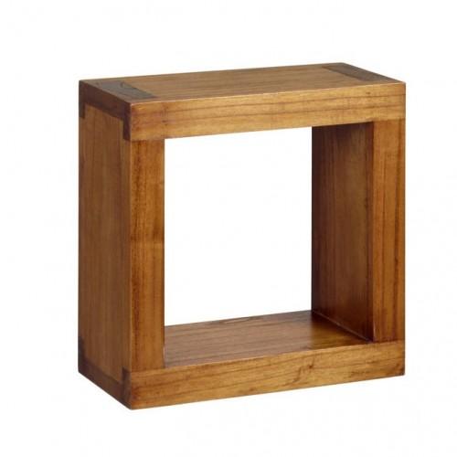 Cubo legno massello neo-coloniale