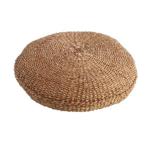 Pouff etnico fibre naturali