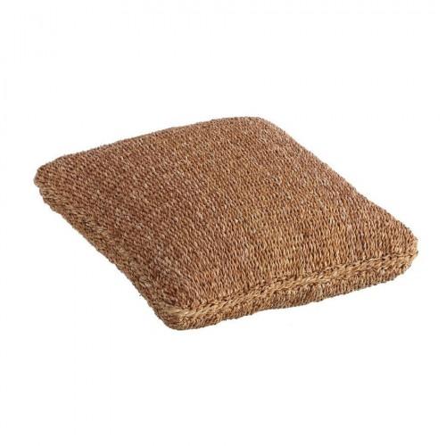 Pouff fibre naturali junco e cocco