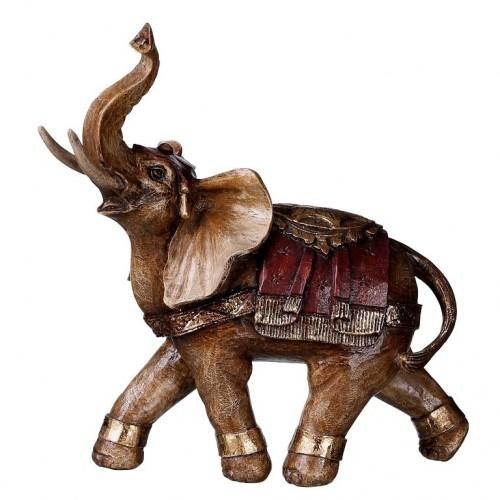 Statua elefante dipinta