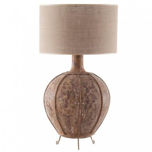 Lampada vintage base terracotta