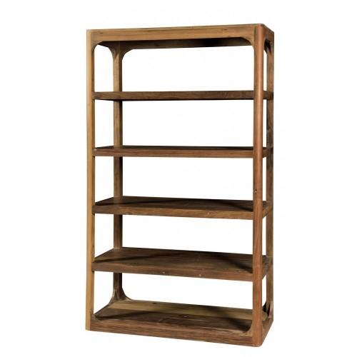 Libreria in legno riciclato