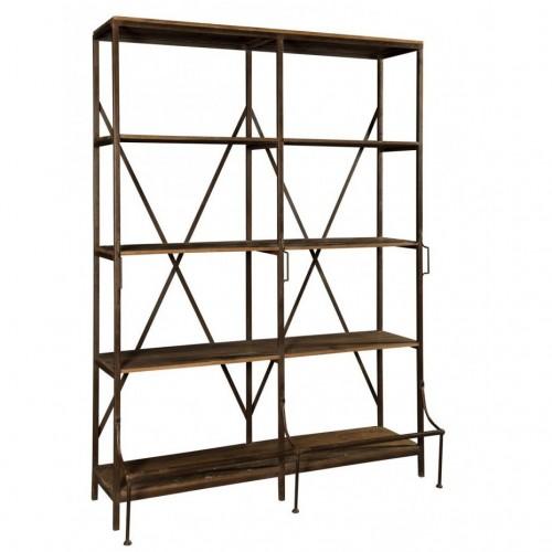 Libreria industrial 2 spazi