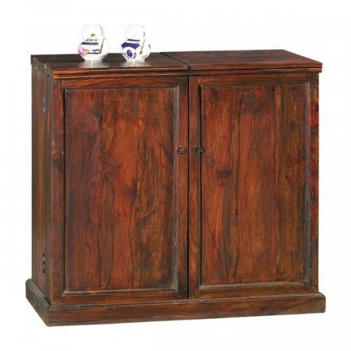Mobile bar etnico in legno