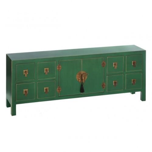 Mobile orientale cinese verde