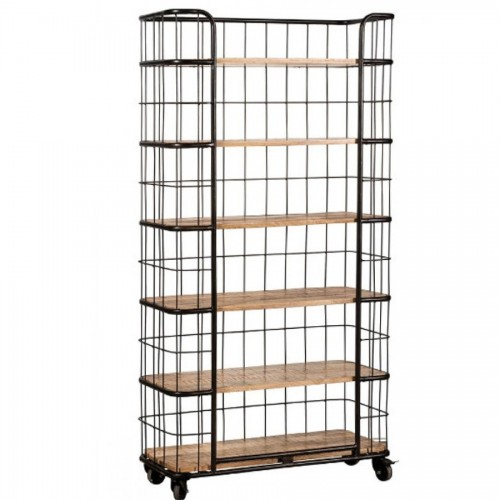 Etagere industrial con rotelle