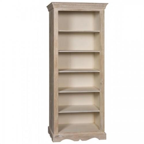 Libreria decapata legno