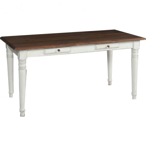 Tavolo provenzale legno bianco