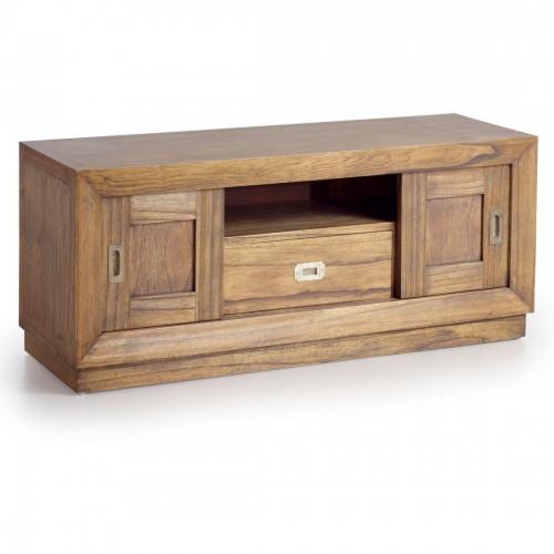 Porta tv legno decò