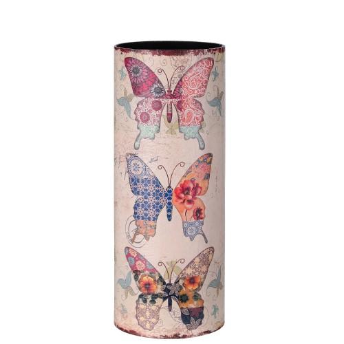 Portaombrelli farfalla shabby
