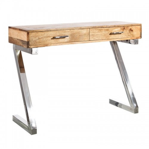 Scrittoio industrial legno acciaio