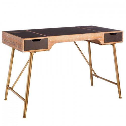 Scrivania ufficio vintage legno
