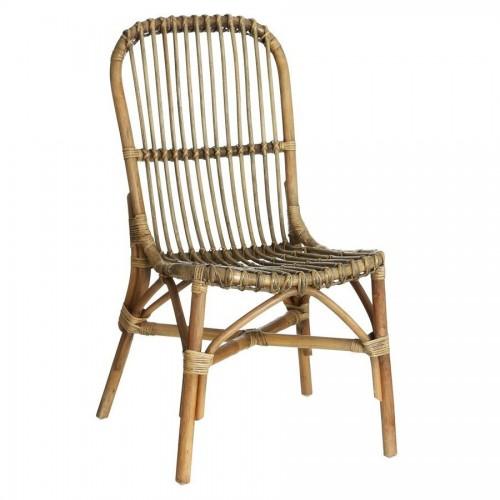 Sedia in rattan e bamboo