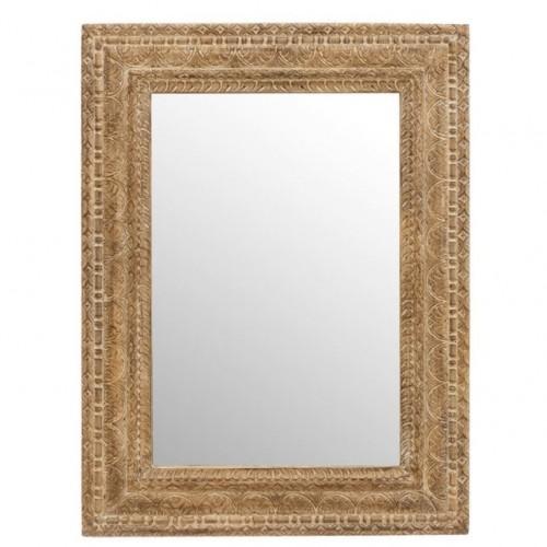 Specchio etnico legno anticato