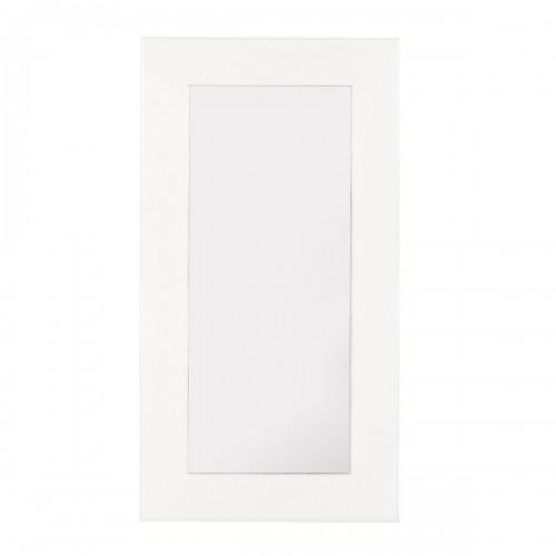 Specchio bianco coloniale