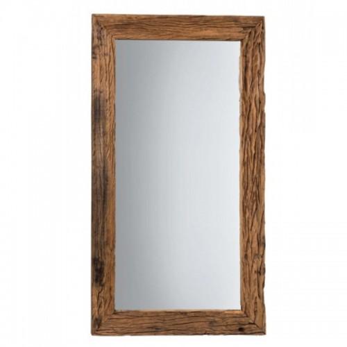 Specchio legno riciclato