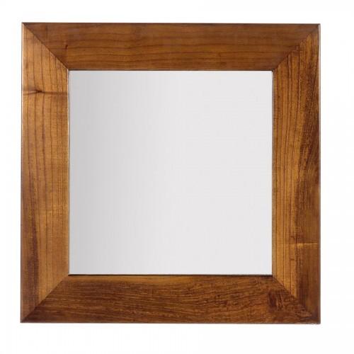 Specchio quadrato neo-coloniale