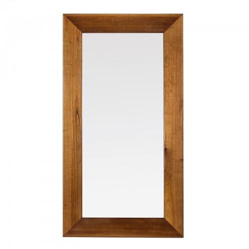 Specchio rettangolare neo-coloniale