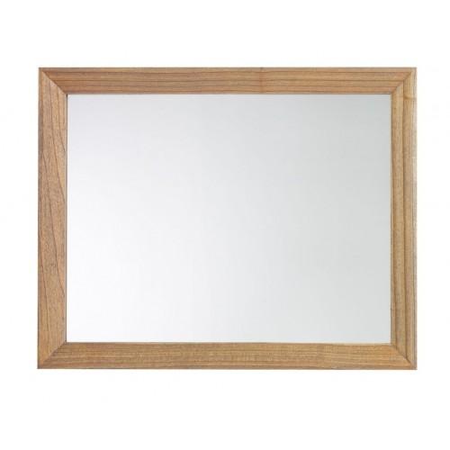 Specchio etnico legno decò