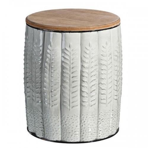 Tavolino argento orientale chic