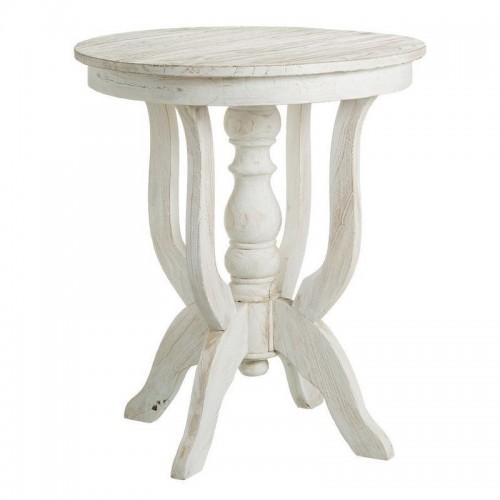 Tavolino salotto alto bianco