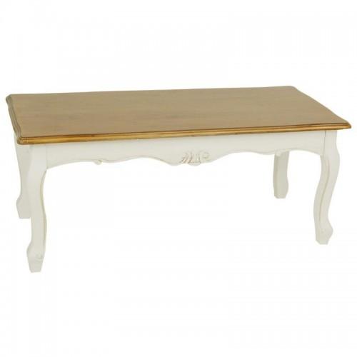 Tavolino legno shabby chic