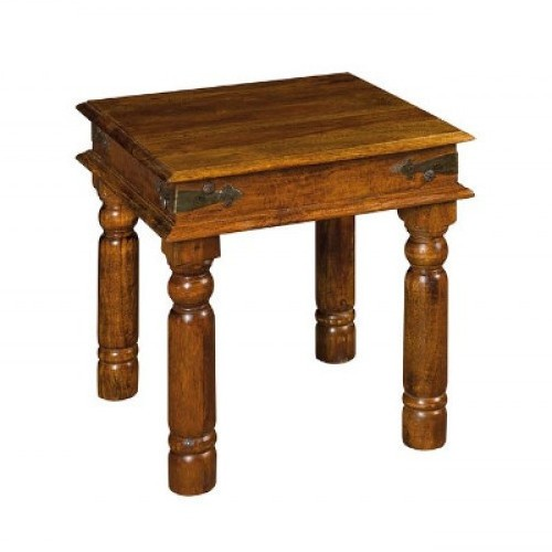 Tavolino etnico legno 45x45
