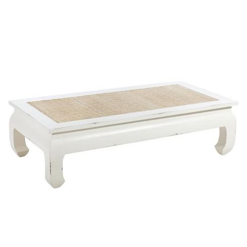 Tavolino opium bianco shabby