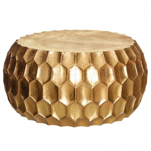 Tavolino oro orientale chic
