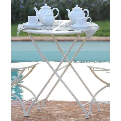 Tavolino provenzale in ferro