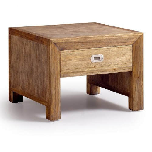 Tavolino etnico legno decò