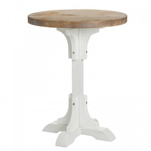 Tavolino da the alto legno