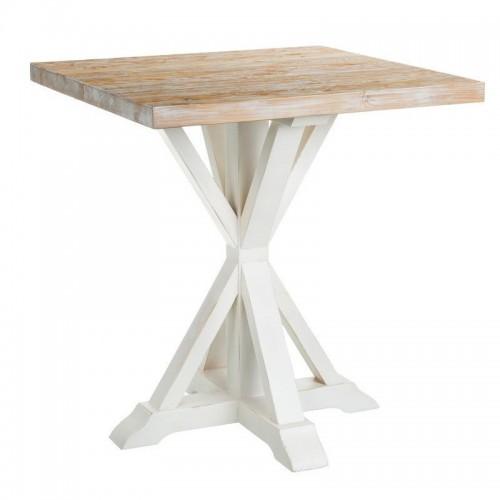 Tavolo bar shabby chic legno
