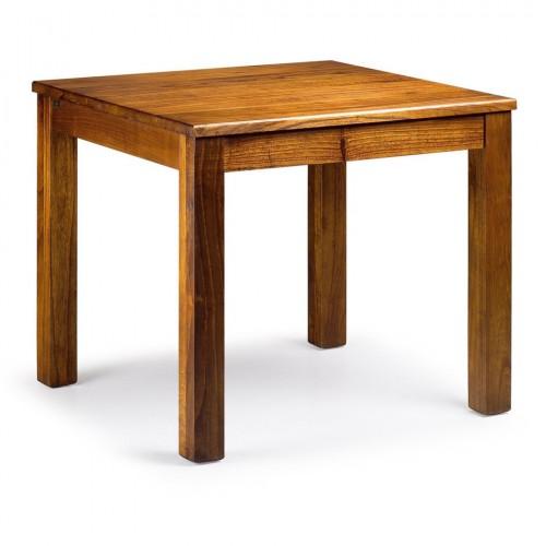 Tavolo quadrato neo-coloniale