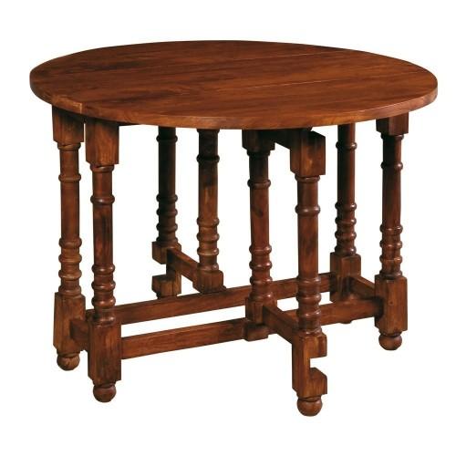 Tavolo tondo in legno diam 100CM