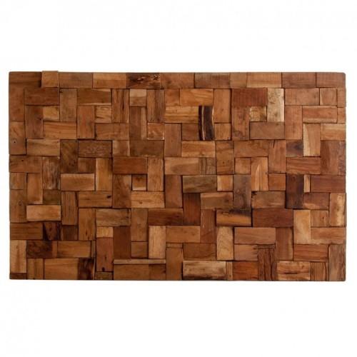 Testata letto etnica legno massello