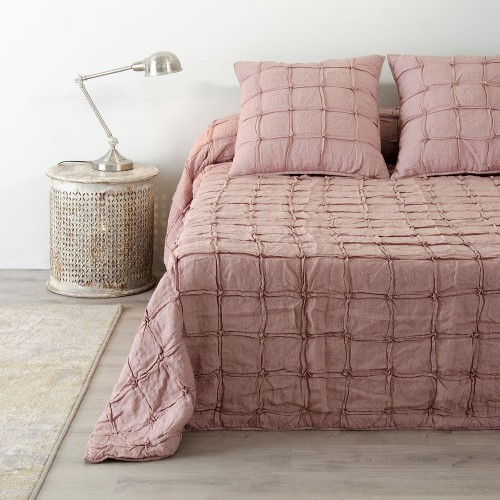 Trapunta provenzale rosa antico