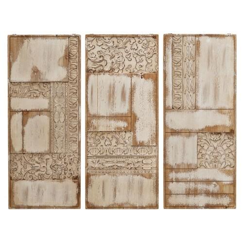 Murale shabby in legno