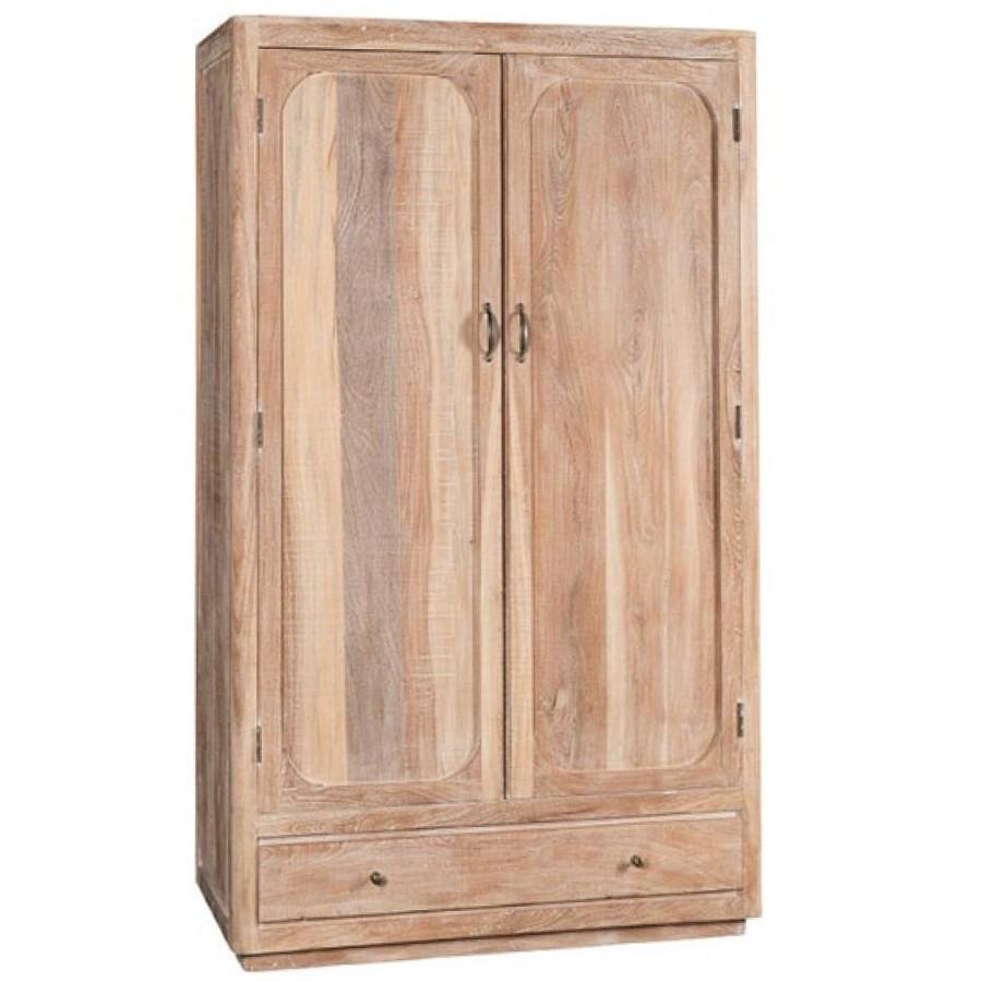 Armadio legno massello slavato Etnic Outlet Arredamento Etnico e non ...